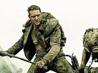 Ator. Tom Hardy interpreta Max Rockatansky, protagonista que já foi vivido por Mel Gibson nos filmes anteriores da série