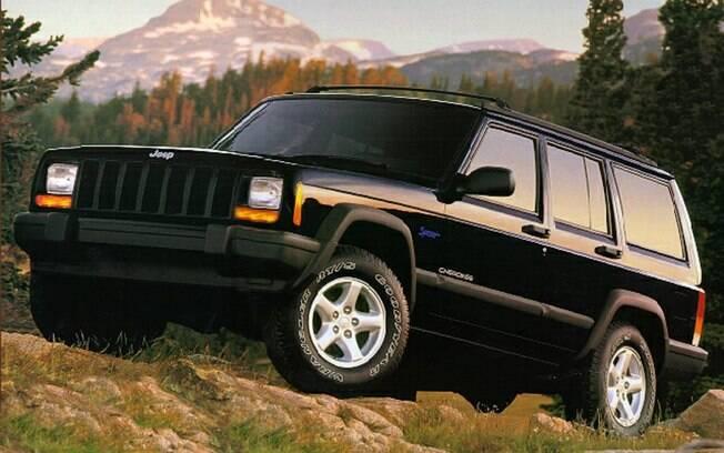 Jeep Cherokee: um dos primeiros SUVs importados que chegaram ao Brasil em meados dos anos 90