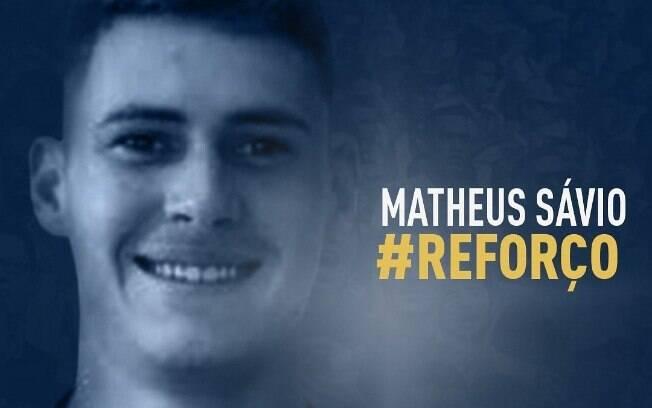 Mercado da bola: Matheus Sávio chegou ao CSA, vindo do Flamengo