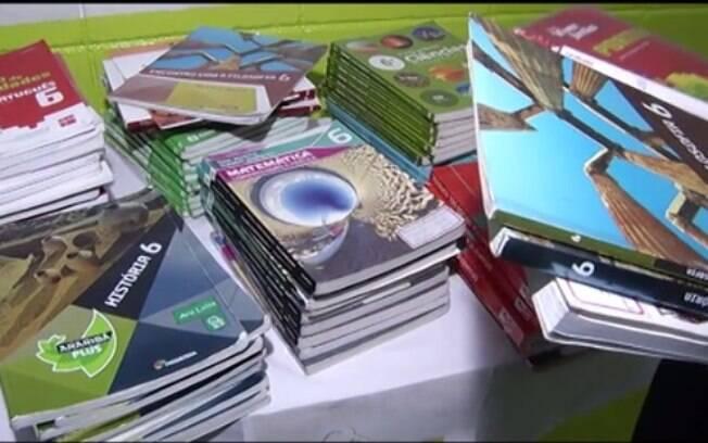 A troca de material escolar didático foi promovida pelo Colégio Mopi, no Rio de Janeiro