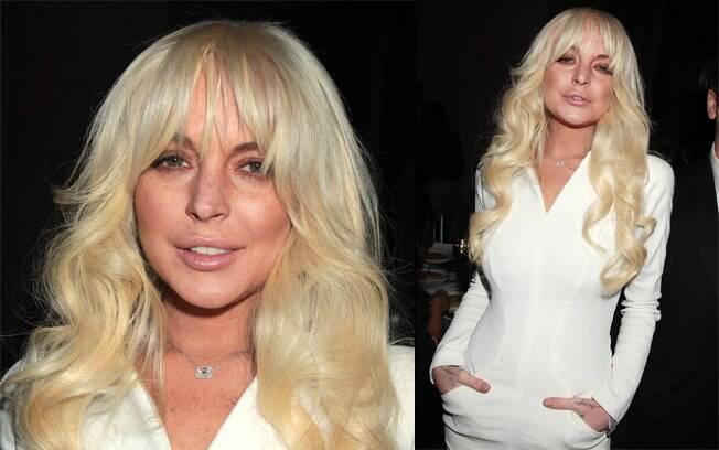 Lindsay Lohan aderiu à franja