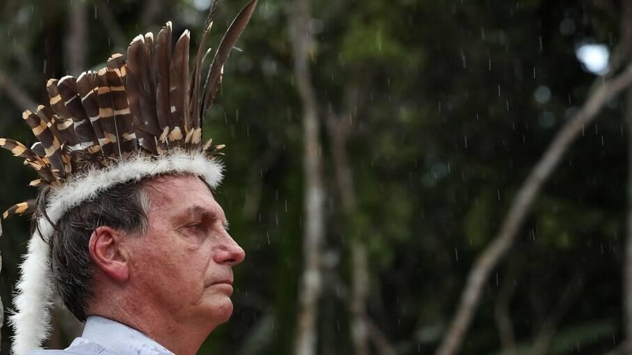 Movimento indígena diz que Bolsonaro inventou etnia e humilha o povo brasieiro