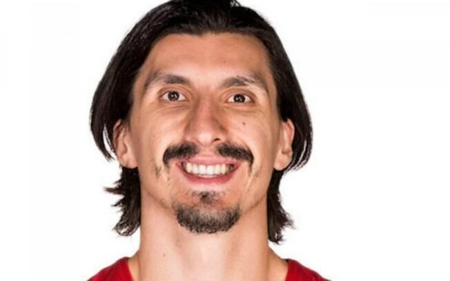 Nihad Djedovic, jogador de basquete que é a cara de Zlatan Ibrahimovic
