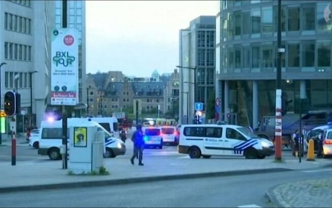 Bruxelas: o ataque teria ocorrido nas escadarias do hall principal da estação central da capital da Bégica