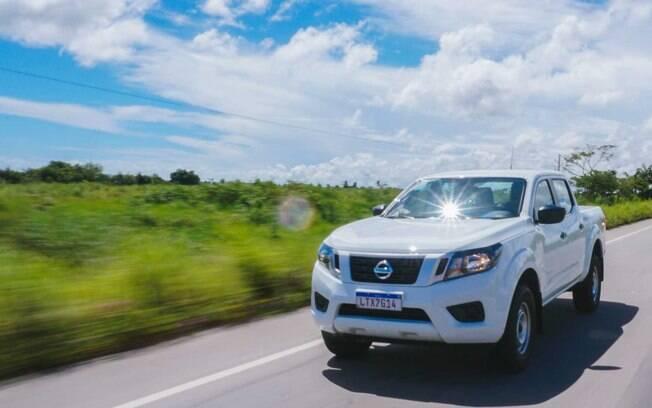 Nissan Frontier S é voltada para o trabalho pesado, mas passa a ter acessórios um pouco mais sofisticados