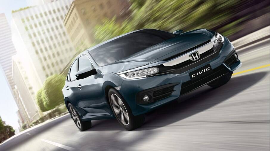 Honda Civic é destaque na internet, à frente de Toyota Corolla e Chevrolet Onix, segundo pesquisa da Webmotors Autoinsights