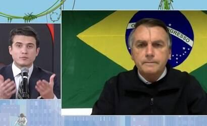 Bolsonaro abandona a Jovem Pan após bate-boca e gritaria