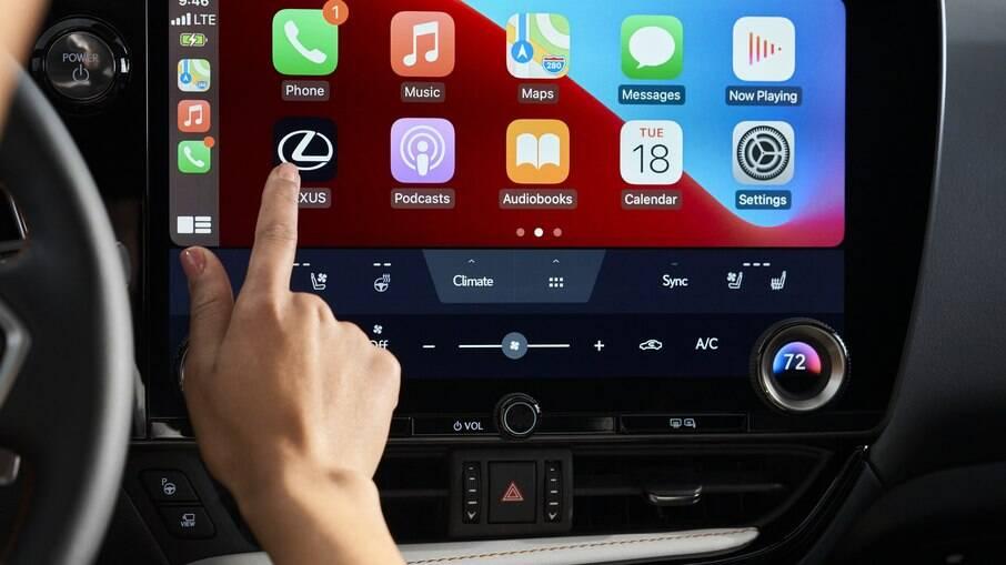 Novo sistema multimídia da Toyota fará estreia no Lexus NX no final de 2021