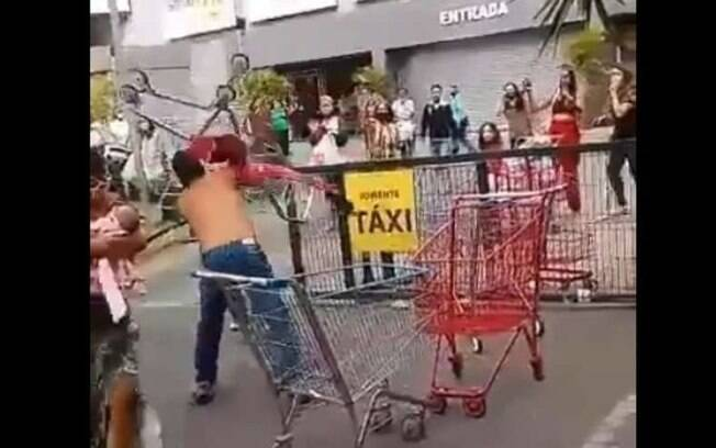 Briga de trânsito