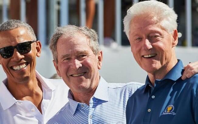 Obama, Bush e Clinton querem encabeçar campanha de vacinação contra Covid-19 nos EUA