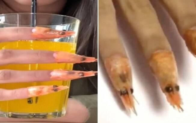 Você faria essa nail art, digamos diferente?