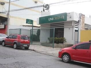Cooperativa, que fica perto de uma companhia da PM, fica na avenida Nossa Senhora do Carmo