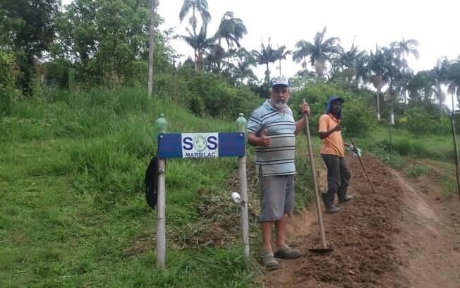 Luiz, o presidente da Associação dos Moradores de Marsilac