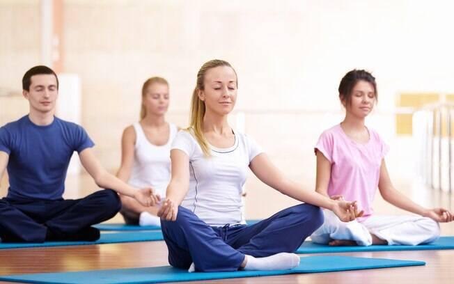 O hatha-ioga não provoca suor e ajuda a melhorar a imunidade