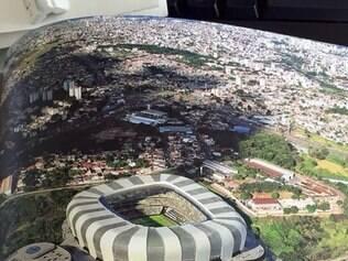 Estádio do Atlético foi projetado para ficar no bairro Califórnia, na região noroeste de Belo Horizonte