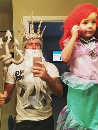 Ariel e Rei Tritão