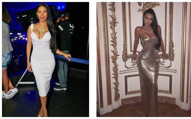 Simaria e Kim Kardashian