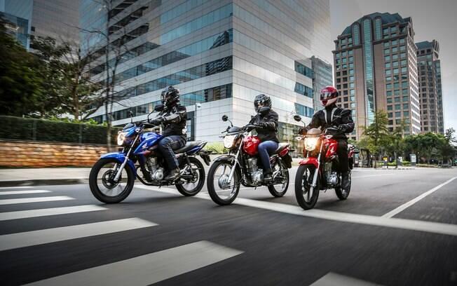 Honda CG 160 da linha 2018: novos freios CBS  entre as principais novidades do modelo mais vendido da marca no Brasil