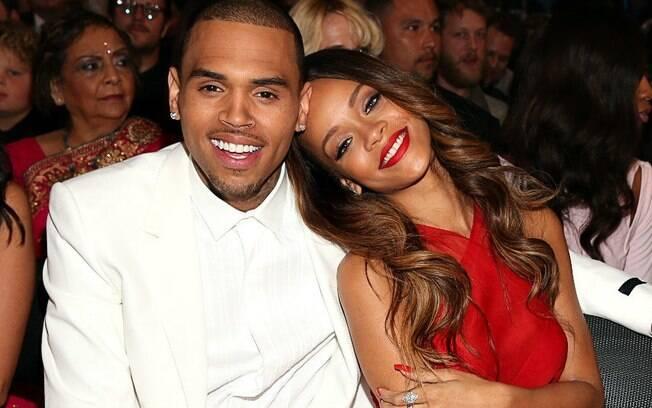 Rihanna e Chris Brown tiveram um relacionamento complicado