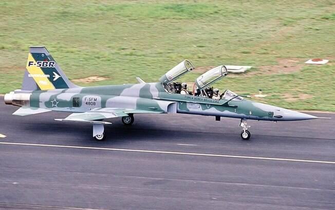Caça F-5 Tiger da Força Aérea Brasileira
