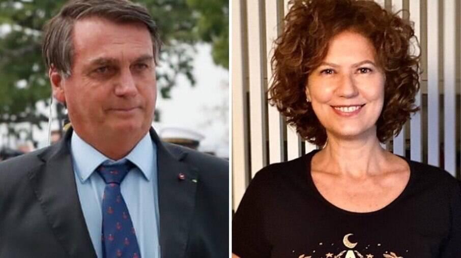 Jair Bolsonaro e Patrícia Pillar