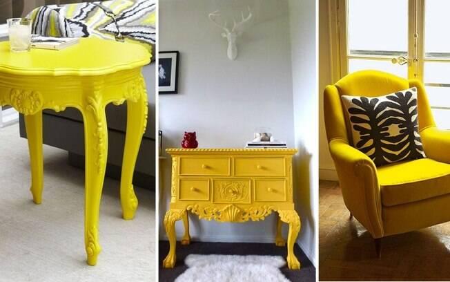 Móveis amarelos e de visual clássico são a cara da protagonista de 'A Bela e a Fera'
