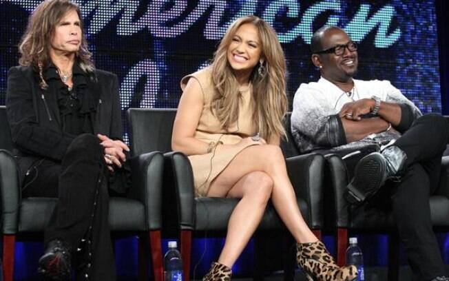 Steven Tyler, Jennifer Lopez e Randy Jackson: os jurados do