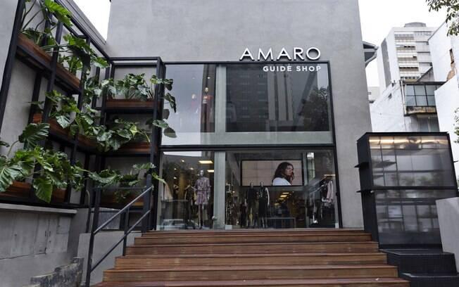 Guide Shops da AMARO são sempre projetados por famosos escritórios de arquiteturas locais para representar conceitos da cidade e funcionar como