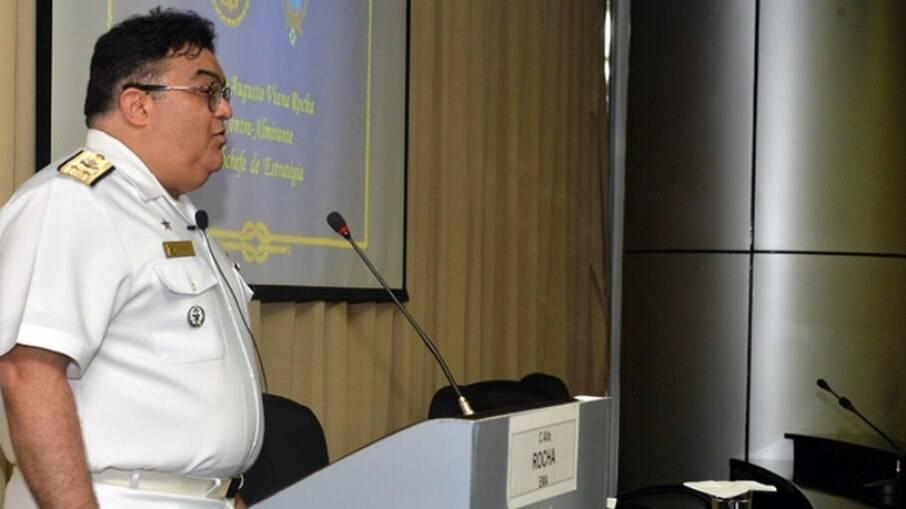 Almirante Rocha, novo secretário de Comunicação Social do governo Bolsonaro