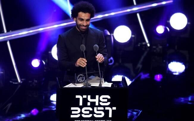 Mohamed Salah ganhou o Prêmio Puskás de 2018