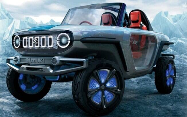 O Suzuki E-Survivor Concept: protótipo chamativo mostra o desenvolvimento das novas tecnologias para o futuro