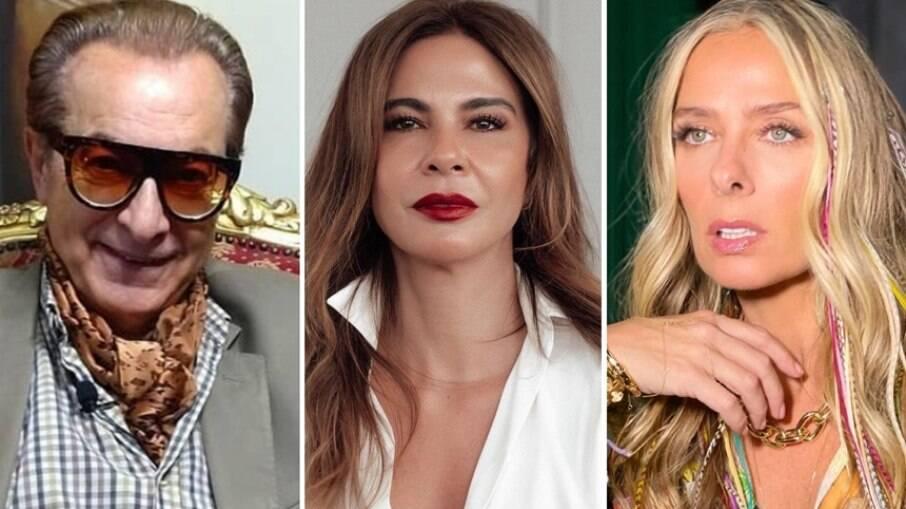Ronaldo Esper, Luciana Gimenez e Adriane Galisteu