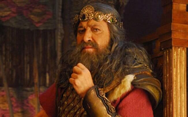 Gracindo Jr. vive o rei Saul, que governa Israel antes da ascensão de Davi ao trono