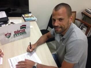 Diego Cavalieri já defendeu o gol do Fluminense em 206 partidas