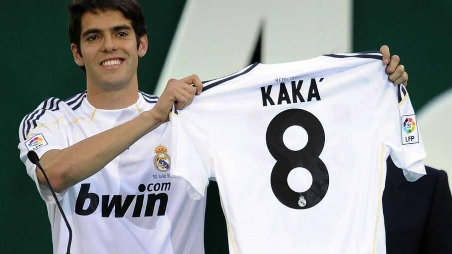 Kaká foi uma das decepções do Real Madrid