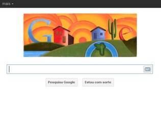 Tarsila do Amaral é homenageada por doodle inspirado em suas pinturas