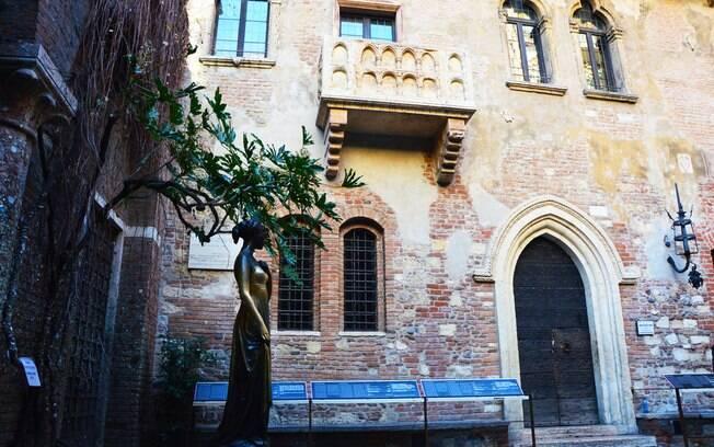 Casa de Julieta, em Verona