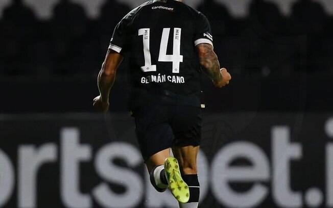 Cano marca mais um gol pro Vasco