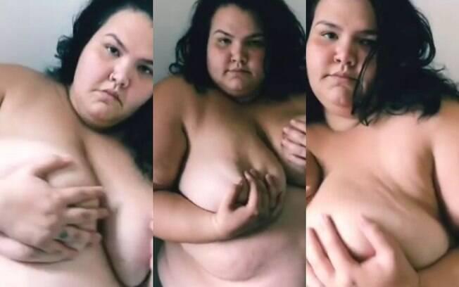 Thais Carla compartilhou um vídeo em prol do Outubro Rosa mostrando o próprio corpo e causou polêmica nas redes