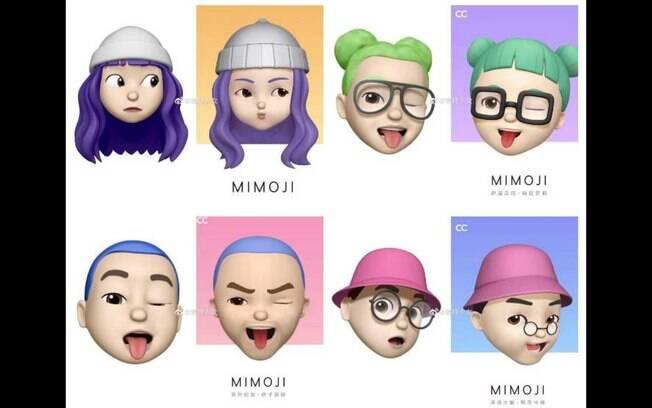 O Mimoji é o recurso de emoji lançado pela Xiaomi e causou polêmica por ser bastante parecido com o Memoji, da Apple