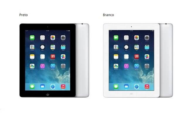 Quarta geração do iPad com tela retina está de volta ao mercado para substituir o iPad 2, de 2011