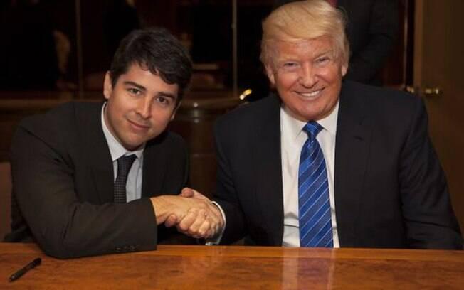 Paulo Renato de Oliveira Figueiredo Filho, neto de João Figueiredo, tem bom relacionamento com Donald Trump