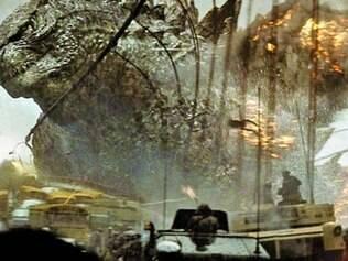 Sem personagens fortes, Godzilla se torna o grande herói do remake