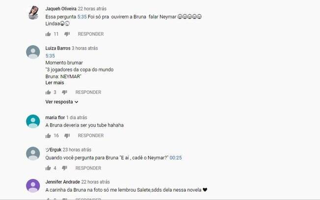 Reações à fala de Bruna Marquezine