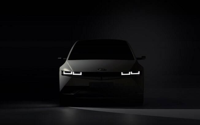 Hyundai Ioniq terá visual arrojado para se destacar entre os novos carros elétricos e poderá ser vendido no Brasil