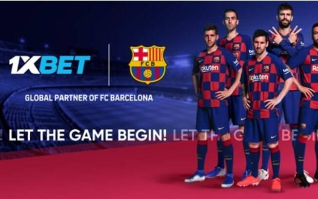 Barcelona e 1xbet firmam parceria