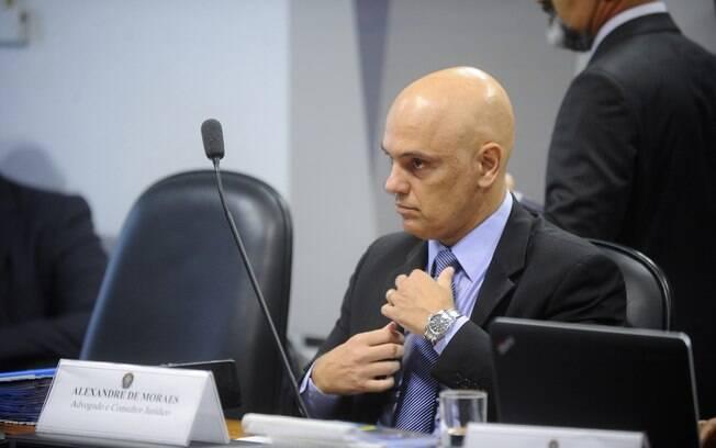 Alexandre de Moraes passou por sabatina no Senado Federal para confirmar se poderia entrar no STF