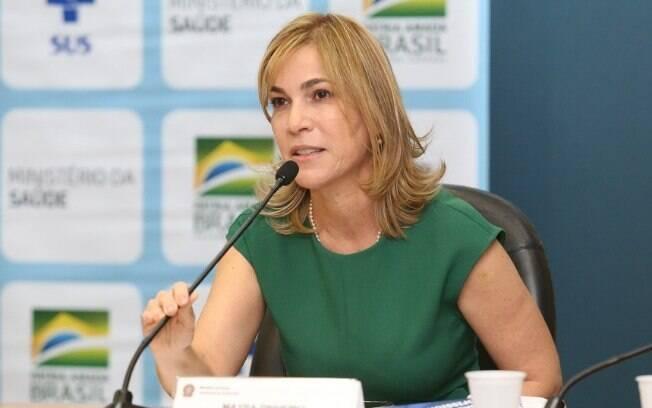 Mayra Pinheiro, secretária de Gestão do Trabalho do Ministério da Saúde