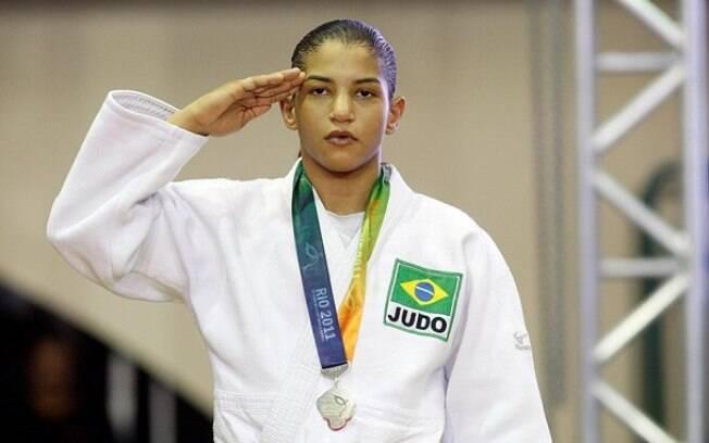 Sarah Menezes: a judoca campeã olímpica ficou fora do Pan de Toronto por opção técnica. Foto: Photocamera