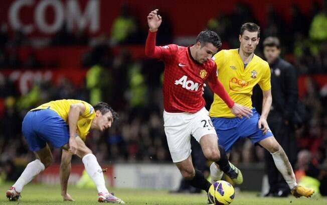 Diferença voltou aos sete pontos na rodada  seguinte, com a vitória por 2 a 1 sobre o  Southampton e o empate do City